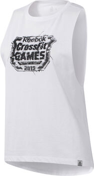 Reebok Camiseta RC Distressed Games Crest mujer