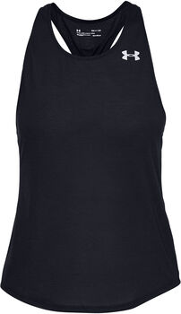 Under Armour Camiseta Streaker 2.0 Racer mujer Negro