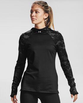 Under Armour Sudadera con capucha ColdGear® Armour Camo mujer Negro