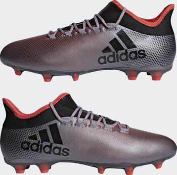 Botas fútbol adidas X 17.2 FG hombre Gris