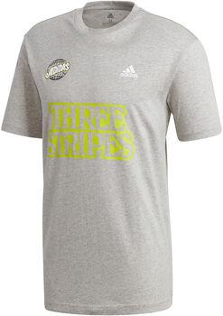 adidas Camiseta manga corta Athletics Graphic hombre