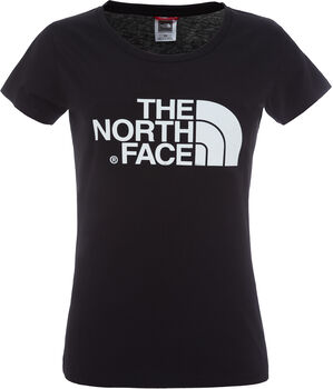 The North Face Camiseta de manga corta Easy para mujer Negro