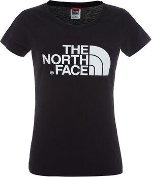 The North Face Camiseta de manga corta Easy para mujer Negro