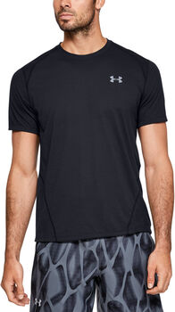 Under Armour Camiseta de manga corta Streaker 2.0 Shift hombre Negro