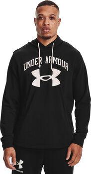 Under Armour Sudadera Rival Terry Big Logo hombre Negro