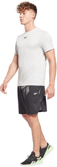Camiseta Manga Corta Workout Melange