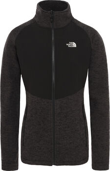 The North Face SudaderaARASHI OVERLAY FLEECE mujer Negro