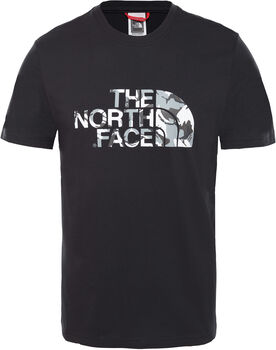 2123aef5ec151 The North Face Camiseta Extent II Logo hombre Negro