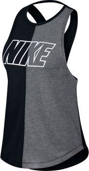 Nike Camiseta de Running  Miler mujer Negro