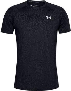 Under Armour Camiseta de manga corta UA MK-1 Jacquard para hombre Negro