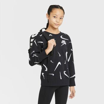 Sudadera Nike Sportswear Swoosh niña Negro