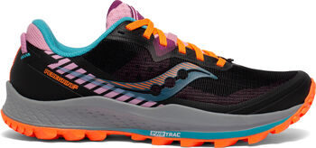 Saucony Zapatillas trail running Peregrine 11 mujer Negro