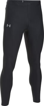 Under Armour Leggings UA Run True para hombre Negro