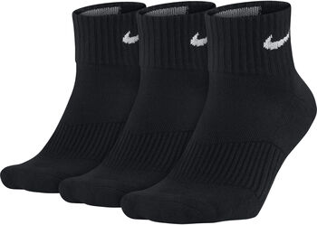 Nike Calcetines Perfect Cushion Qrter Training (3 Pares) hombre Negro