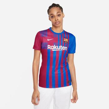 Nike Camiseta Primera Equipación Fc Barcelona 21/22 mujer Azul