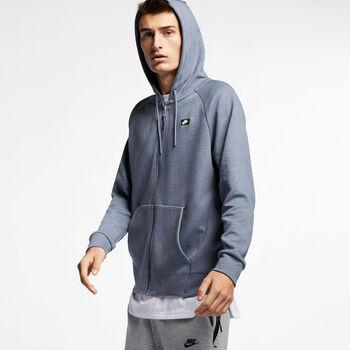 Nike nsw optic hoodie fz hombre Azul