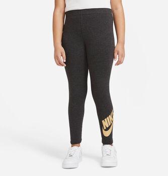 Nike Mallas Sportswear Big Kids niña Negro