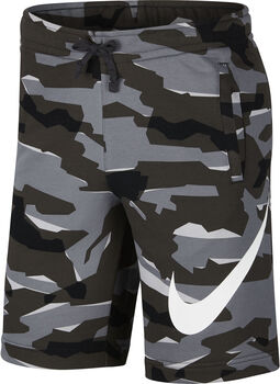 Nike m nsw club camo short ft hombre Gris