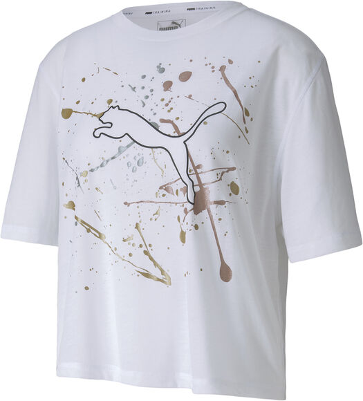 Camiseta Manga Corta Metal Splash Graphic