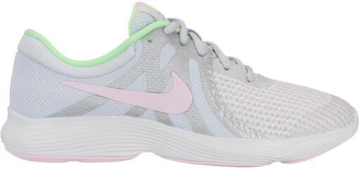 Nike - Revolution 4 (GS) - Unisex - Zapatillas Running - Blanco - 36?
