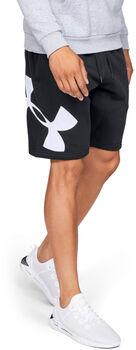 Under Armour Pantalón corto de tejido Fleece y logotipo UA Rival hombre