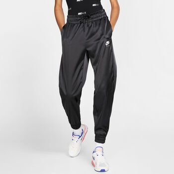 Nike PantalonNSW AIR TRK PANT SATIN mujer Negro