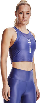 Under Armour Crop top Isochill mujer Azul