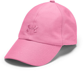 Under Armour Gorra UA Play Up Heathered para mujer Rosa