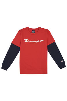 Champion Camiseta manga larga niño