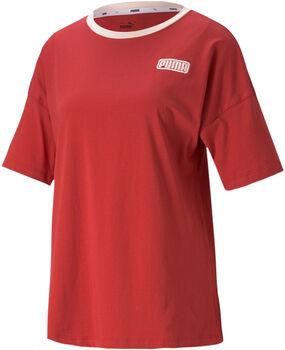 Puma Camiseta Manga Corta Summer Stripes mujer
