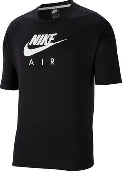 Nike Camiseta Manga Corta Air Women's Short-Sleeve mujer Negro