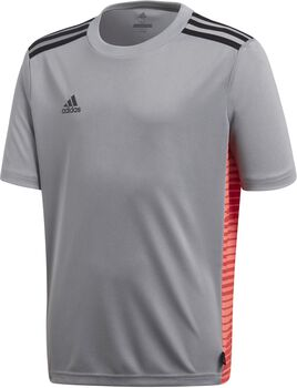 Camiseta fútbol adidas TAN CL JSYY Junior niño Gris
