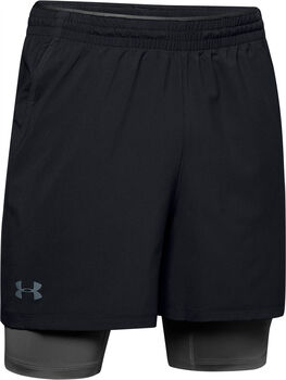 Under Armour Short Qlifier 2-in-1 Short hombre Negro