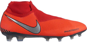 Nike Phantom Vision Elite Dynamic Fit FG Cesped hombre Rojo