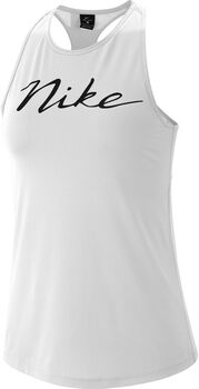 Nike Camiseta de tirantes Pro Estampada mujer Blanco