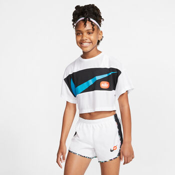 Nike Camiseta de manga corta Blanco