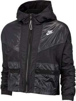 Nike ChaquetaNSW WR JKT CARGO REBEL mujer Negro