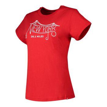 New Balance Camiseta manga corta Graphic 21 Maratón NYC mujer