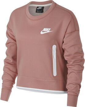 Nike W NSW TCH FLC CREW mujer