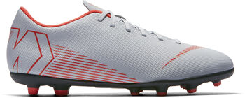 Botas fútbol Nike Mercurial Vapor 12 Club MG hombre Negro
