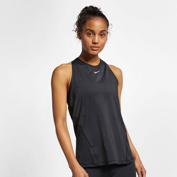Nike Camiseta Sin Mangas All Over Mesh mujer Negro