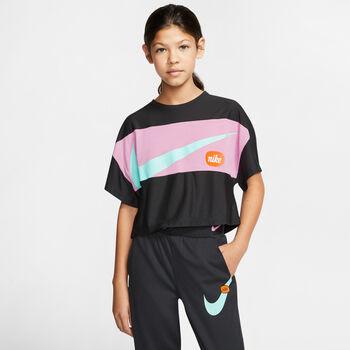 Nike Camiseta manga corta Big Kids Negro