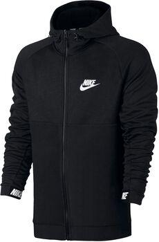 Nike Nsw Av15 Hoddie Fz Flc Hombre Negro