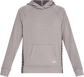 Under Armour Sudadera con capucha Featherweight Fleece mujer Gris