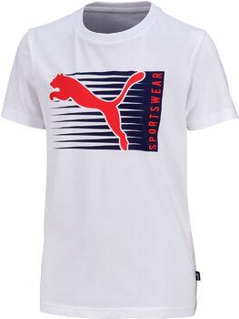 Puma Camiseta de manga corta Cat Logo niño