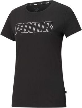 Puma Camiseta Manga Corta Rebel Graphic mujer Negro
