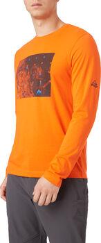 McKINLEY Camiseta Manga Larga Arne Ux hombre Naranja