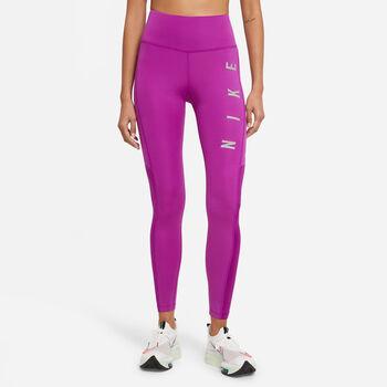 Leggings Nike Epic Fast Run mujer Púrpura