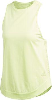 adidas Z.N.E. Tank Top Mujer Amarillo