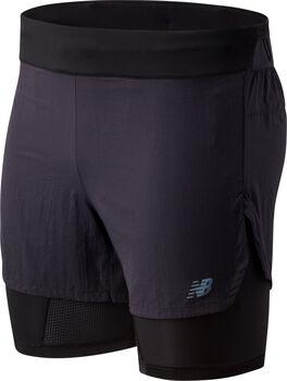 New Balance Pantalón corto Q Speed 5IN hombre Negro
